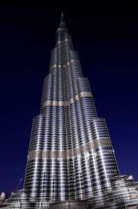 burj khalifa, dubai, skyscraper